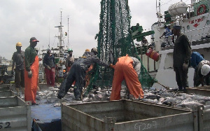 File Photo: Dr Ebo Turkson believes that Central region needs a fishing harbour