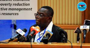 Senior Research Fellow at the Institute for Democratic Governance, Dr. Kwesi Jonah