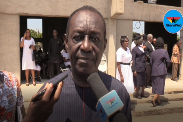 Patron of the Ashanti regional campaign team, Dr. Kwame Addo Kufuor