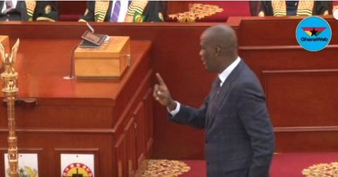 Haruna Iddrisu is Minority Leader in Parliament