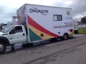 The Onuador medical vans