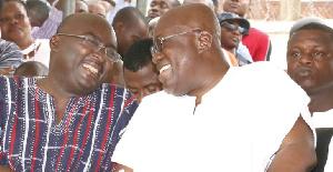 President Akufo-Addo and Vice President Bawumia