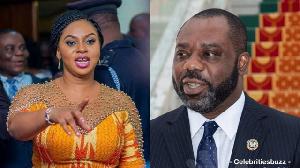 Sarah Adwoa Safo and Dr Matthew Opoku-Prempeh