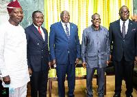 Ghana's delegation to ECOWAS Parliament