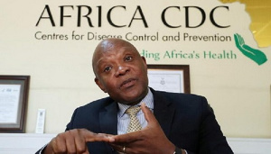 John Nkengasong is Director of the AU's Africa CDC