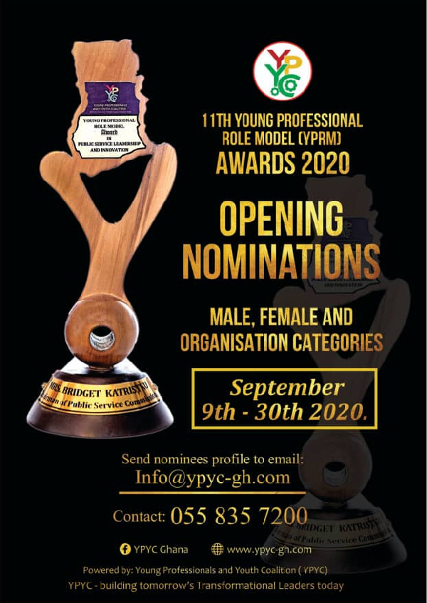 Young Professional Role Model awards nominations opened