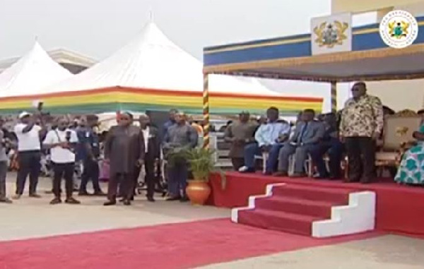 LIVESTREAMING: Akufo-Addo commissions much awaited ambulances