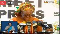 Minister for Gender and Social Protection, Otiko Djaba