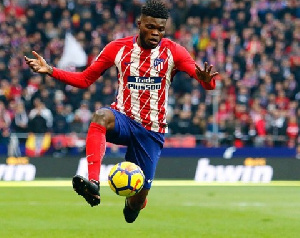 Partey has been linked with a move to London side Arsenal this summer