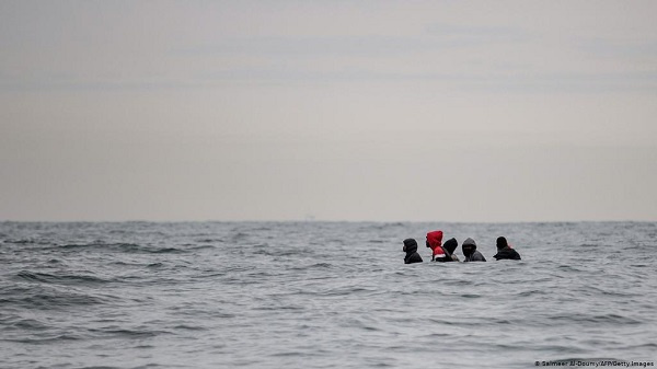 Rescuers pulled 165 survivors from the floundering boats out of the sea to safety