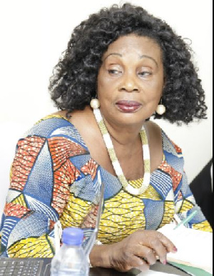 Grace Omaboe is known in the movie industry as Maame Dokono