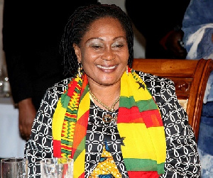 Former First Lady and founder of the Lordina Foundation, Mrs Lordina Mahama
