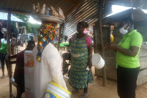 The National Commission for Civic Education visited some communities