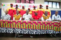 Ghana's team for the Youth Olympics
