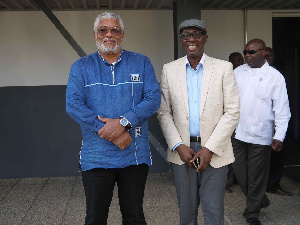 JJ Rawlings and Abdul-Rahman Harruna Attah