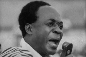 Ghana's First Prime Minister, Osagyefo Dr Kwame Nkrumah