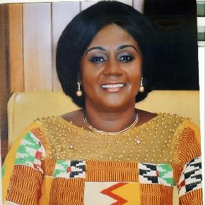 Barbara Oteng Gyasi Deputy Lands Minister