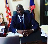 President of Liberia, George Weah