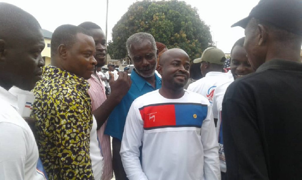 RE: NPP parliamentary aspirant slaps party activist in front of police officers