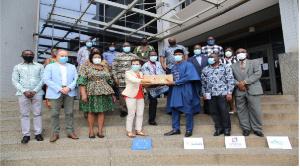 EU donation over half a million cedis worth of PPES to GPHA, RMU