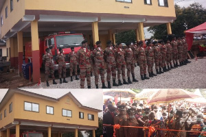 Abesim gets fire station