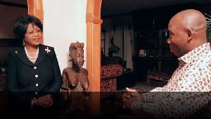 Ambassador Chihombori-Quao seated left