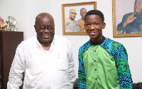 Abraham Attah and President-elect Nana Akufo-Addo
