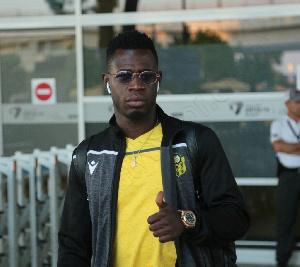 Afriyie Acquah plays for Turkish side Yeni Malatyaspor