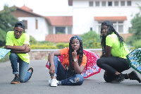 Kobina Ansah, has flaunted his brilliance when it comes to quality fun on stage