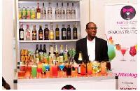 Daniel Raynold Tetteh, President, Ghana Bartenders Association