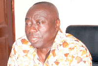 Kwame Owusu,  Director General of the Ghana Maritime Authority