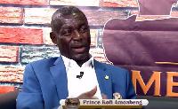 Prince Kofi Amoabeng, UT boss