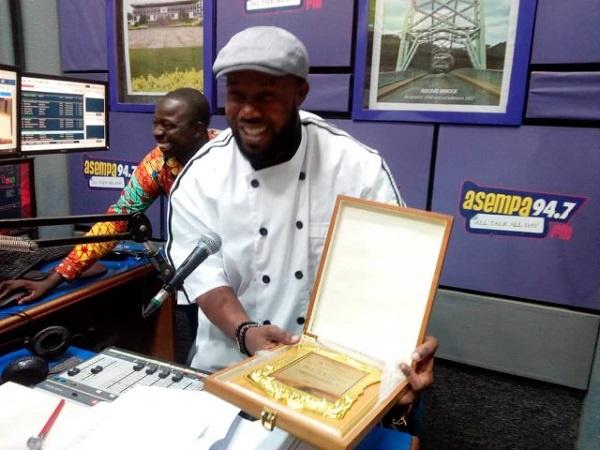 Asempa FM's 'Prof. Wallace' is Ghana Food Championship ambassador