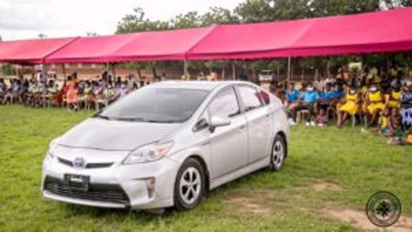 Ablakwa appreciates phenomenal midwife with new car