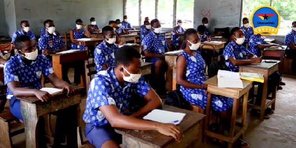 How Ghana's military high school is fighting coronavirus with discipline