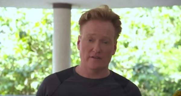 American comedian Conan O'Brien joins 'Year of Return' campaign with emotional video