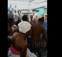 The young teengage girls put their breasts on display as they danced to the song publicly
