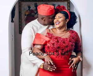 Chief Biney is getting married to Afia Akoto today