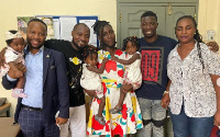 Vanessa along with her mother, children and some Kumawood actors paid a visit to Funny Face