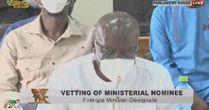 Finance Minister-designate Ken Ofori-Atta