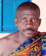 Asafoatse Kwabla Aglah, chief of Suisi-Hiono, the accused
