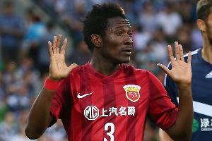 Black Stars captain, Asamoah Gyan