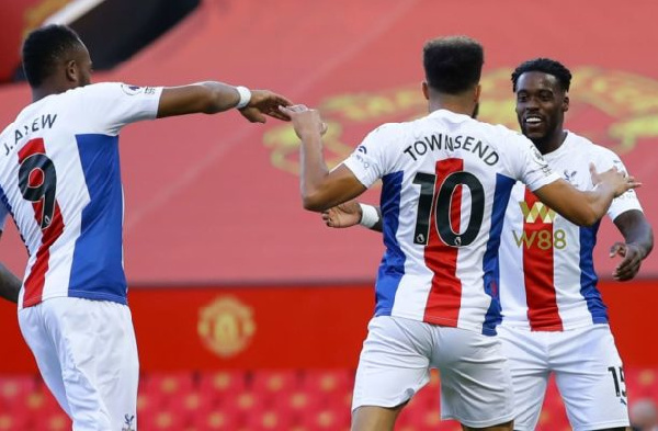 Ghana's Schlupp marks 100th Crystal Palace appearance with an assist in Old Trafford triumph