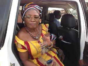Bole District Chief Executive Madam Veronica Alele Herming