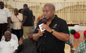 Mahama   Campaign Ends