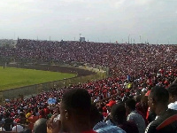 The Kotoko fans turned out in their numbers yesterday