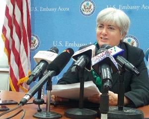 American Ambassador to Ghana, Stephanie S. Sullivan