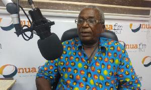 Chief of Akwapem Asetieso, Nana Abedi