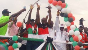 NDC MINISTER LAUNCH