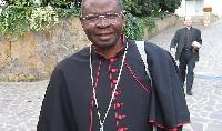 President of Ghana Bishops' Conference, Most Rev. Philip Naameh